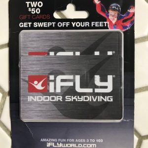 Indoor Skydiving Gift Card