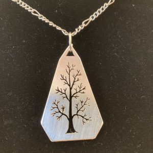 Handcrafted Sterling Silver Pendant Necklace