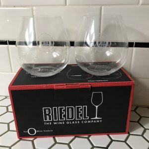 Wine Glasses with Pacific University Logo