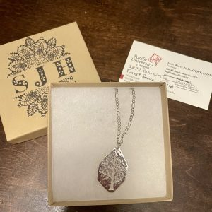 Hand Made Silver Necklace – Designed and Fabricated by John White